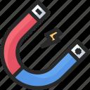 energy, magnetic, power icon
