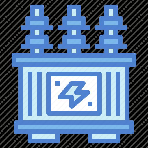 electronics, power, transformer, voltage icon