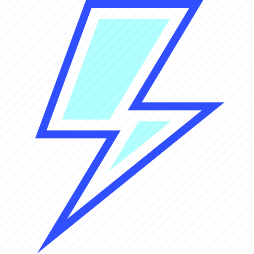 eco, energy, environment, green, thunder, world icon