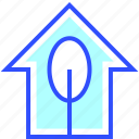 eco, energy, environment, green, house, world icon