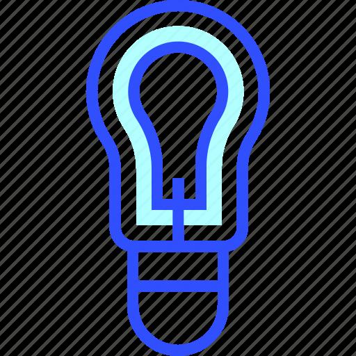 Eco, light, energy, environment, green, bulb, world icon