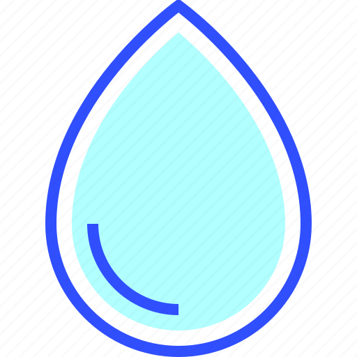 Environment, eco, energy, drop, water, green, world icon