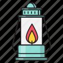 fire, flame, lamp, lantern, light