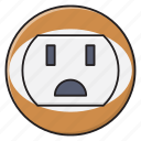 electric, plugin, power, socket, switch