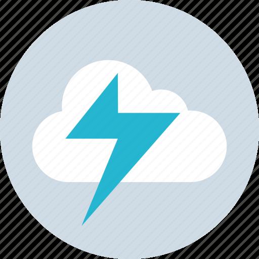 cloud, energy, rain, weather icon