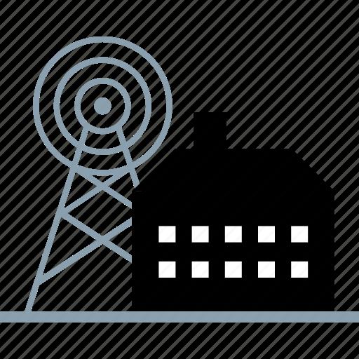 energy, factory, plant, power icon