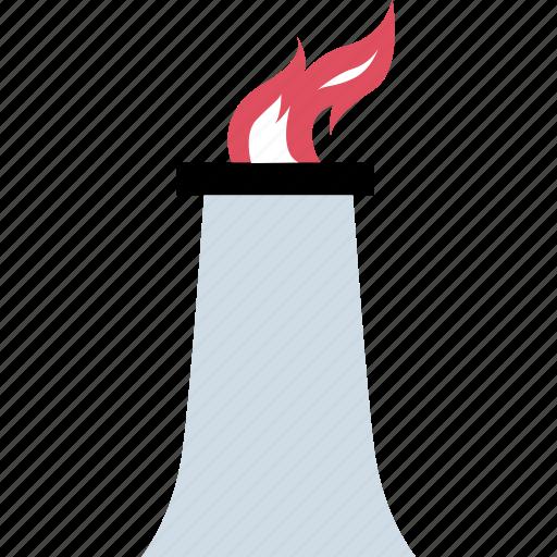 energy, environment, flame, gas icon