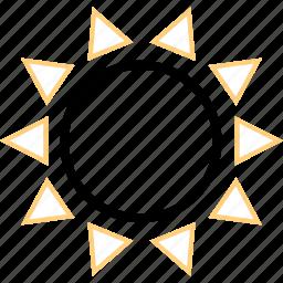 energy, hot, solar, sun icon