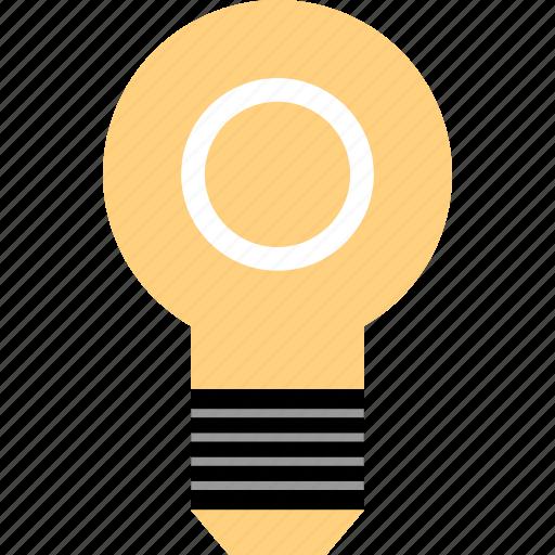 bulb, energy, idea, light icon