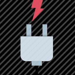energy, plug, plugin, power icon