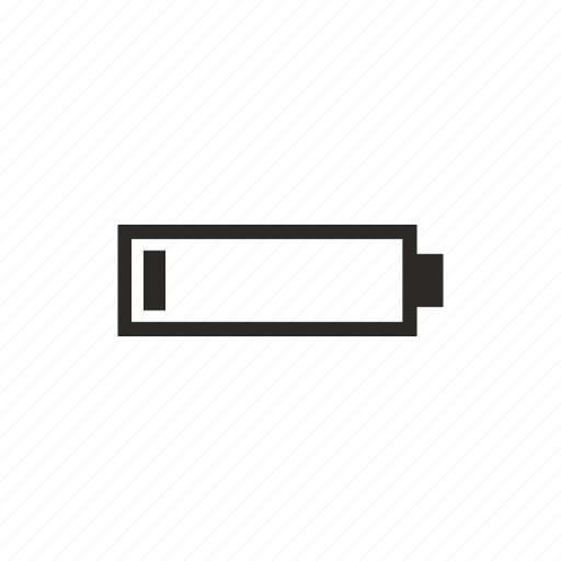 battery, charge, charging, level, low, mobile icon