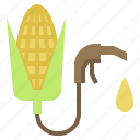 corn, energy, ethanol, fuel icon