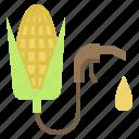 corn, energy, ethanol, fuel icon