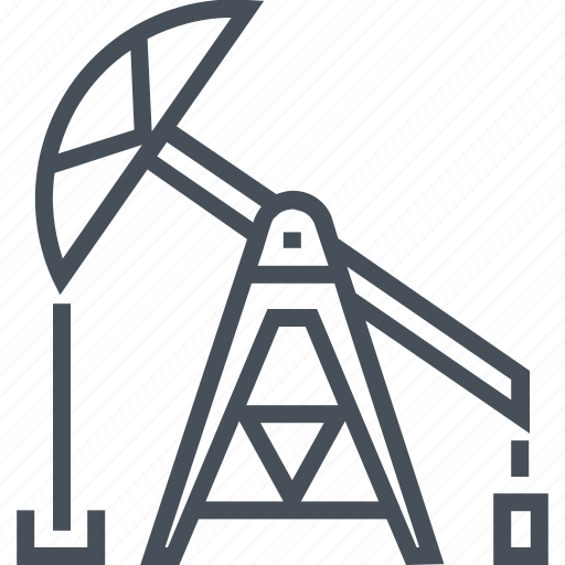 drill, fuel, industrial, oil pump, petroleum, power, pump icon
