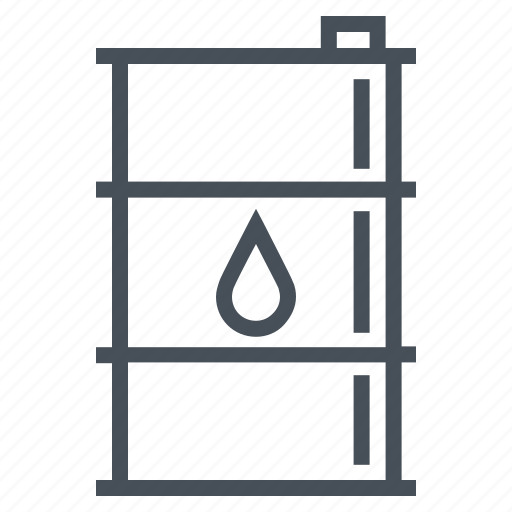 barrel, drum, fuel, gas, oil, tank icon
