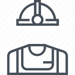 helmet, industrial, industry, work, worker icon
