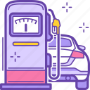 .svg, station, gasoline, car, fuel