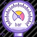 meter, scale, barometer, arrow, instrument, .svg, pressure icon