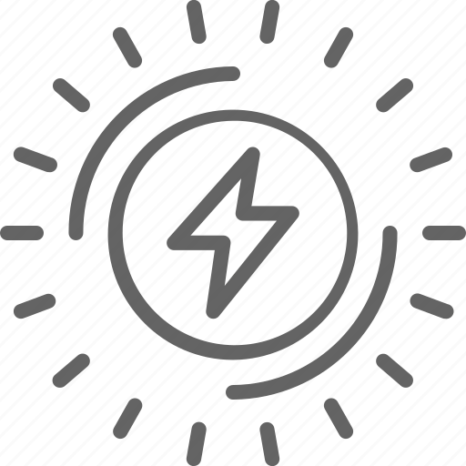 Bolt, electric, electricity, energy, industry, power, thunder icon - Download on Iconfinder