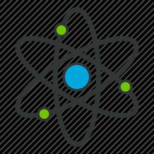 atom, atomic, chemistry, electron, energy icon