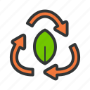 conservation, energy, green, source icon
