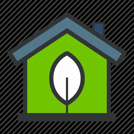 eco, ecology, energy, green, house, plant icon