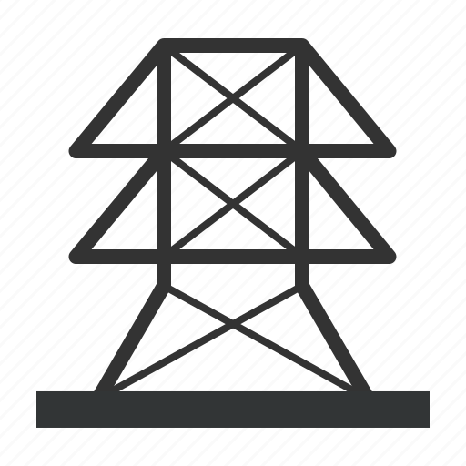 electrical, energy, transmission icon