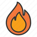 energy, fire, industry, light icon