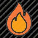 energy, fire, industry, light