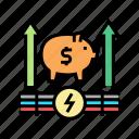 growth, money, energy, saving, equipment, tool