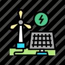 solar, panel, energy, saving, equipment, tool