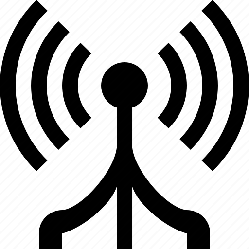 air, antenna, call, cell, cell tower, electric, internet, mobile, mobile network, networks, news, podcast, power, radio, signal, source, tower, voice, wireless icon