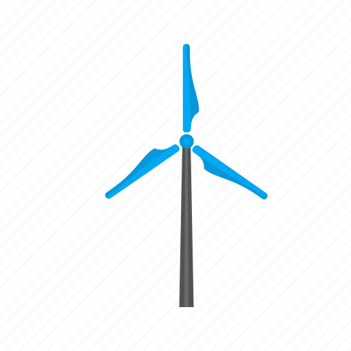 electricity, energy, generator, power, turbine, wind, wind mill icon