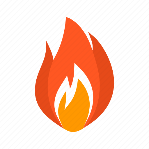 energy, fire, flame, flammable, heat, hot, temperature icon