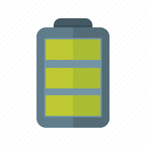 battery, cell, charging, electricity, energy, power, rechargeable icon