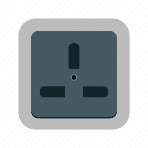 Electric, energy, outlet, plug, power, socket, supply icon - Download on Iconfinder