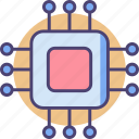 chip, electronic, microchip, processor, technology icon