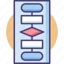 chart, data, diagram, flow, flowchart, graph, infographic icon