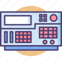 device, electric, function, generator icon