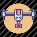 aerial, aerial imaging, drone, imaging, uav icon