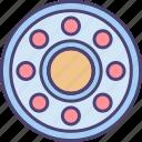 ball, ball bearing, ball bearings, bearings icon