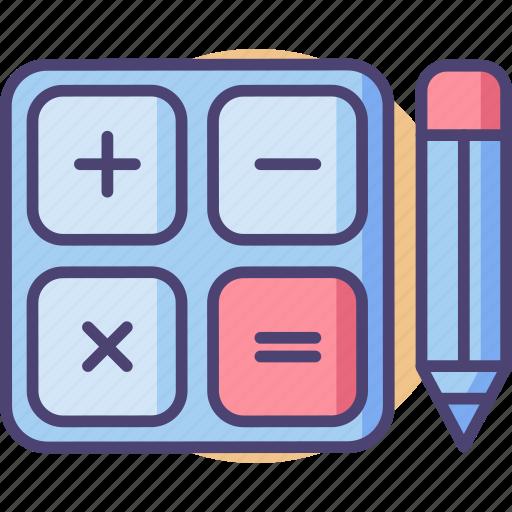 Calculations, calculator, mathematics, maths icon - Download on Iconfinder