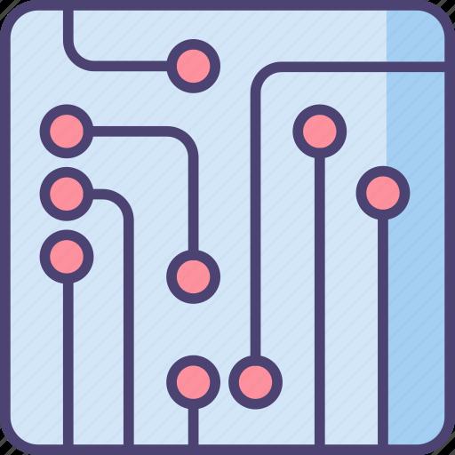 board, circuit, circuit board icon