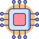 chip, cpu, electronics, processor icon