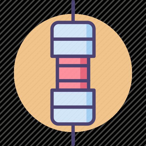 electronic, resistor icon