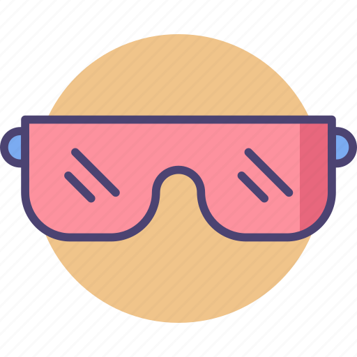 glasses, goggles, safety, safety goggles, shades, sunglasses icon