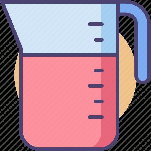 jug, measurement, volume, volume measurement icon