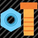 repair, screw, industry, rivet, construction, bolt, tool icon