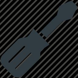 garage tool, hand tool, screwdriver, tool, work tool icon