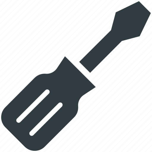 garage tool, hand tool, screwdriver, tool, work tool icon